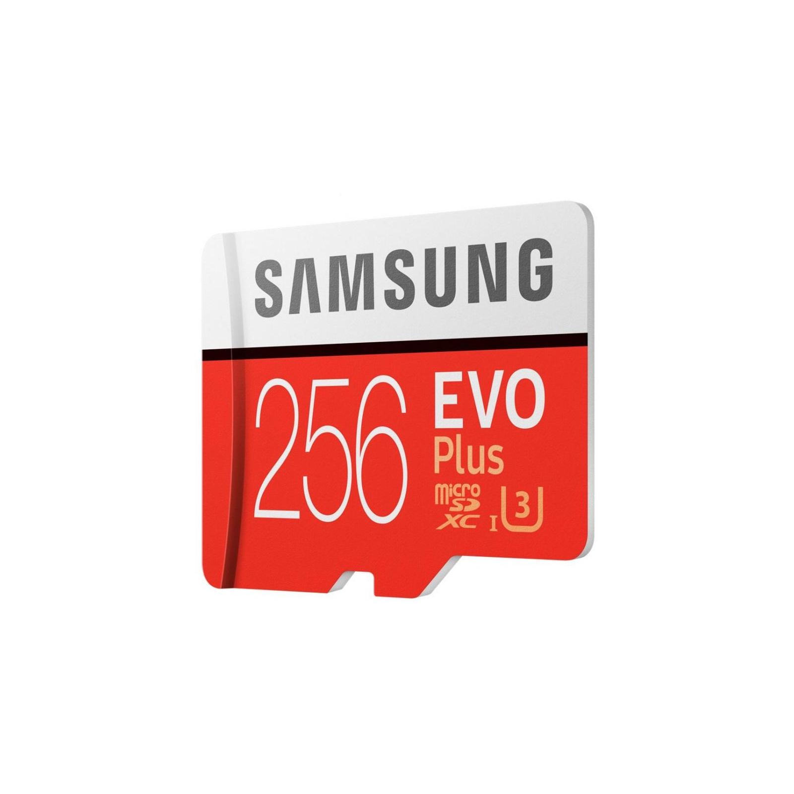 Карта памяти Samsung 256GB microSDXC class 10 UHS-I U3 Evo Plus (MB-MC256GA/RU) изображение 4