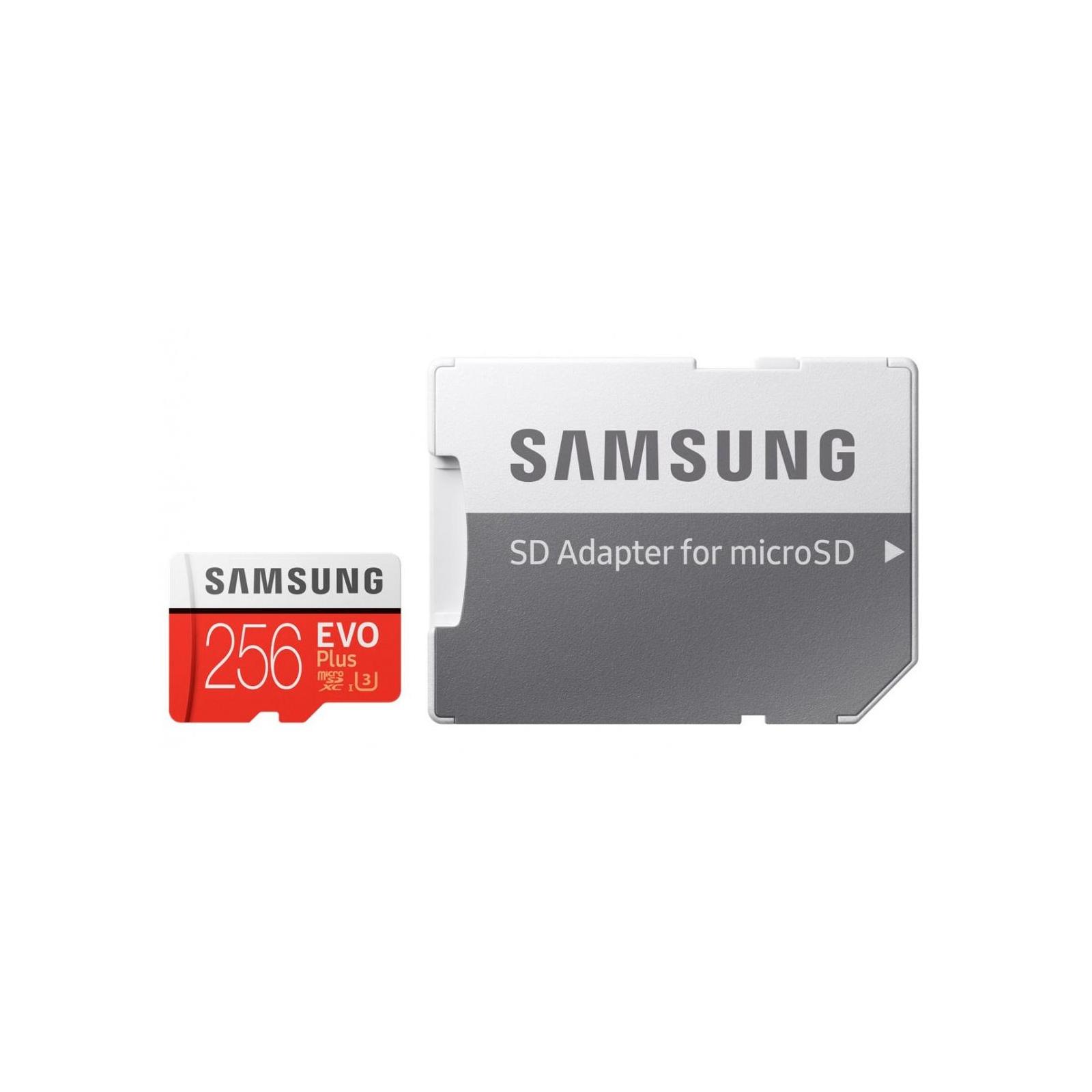 Карта памяти Samsung 256GB microSDXC class 10 UHS-I U3 Evo Plus (MB-MC256GA/RU) изображение 6