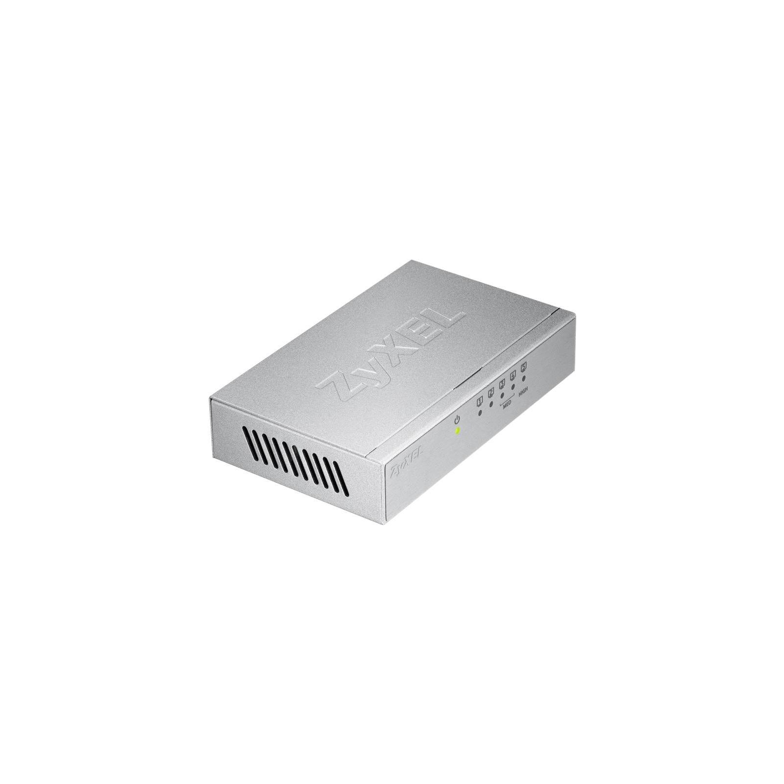 Коммутатор сетевой ZyXel GS-105B v3 (GS-105BV3-EU0101F) изображение 3