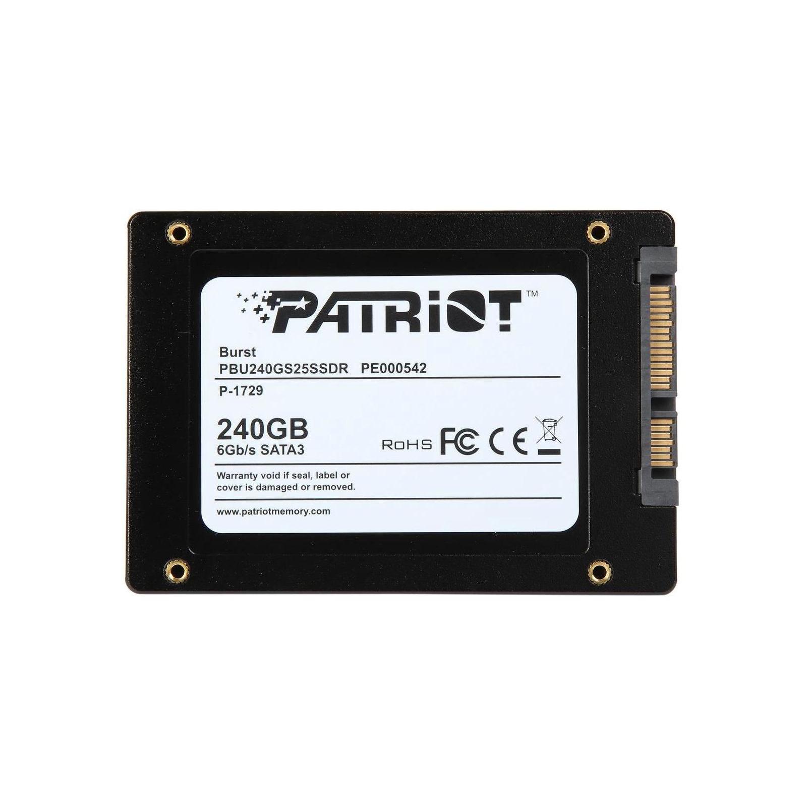 """Накопитель SSD 2.5"""" 240GB Patriot (PBU240GS25SSDR) изображение 5"""