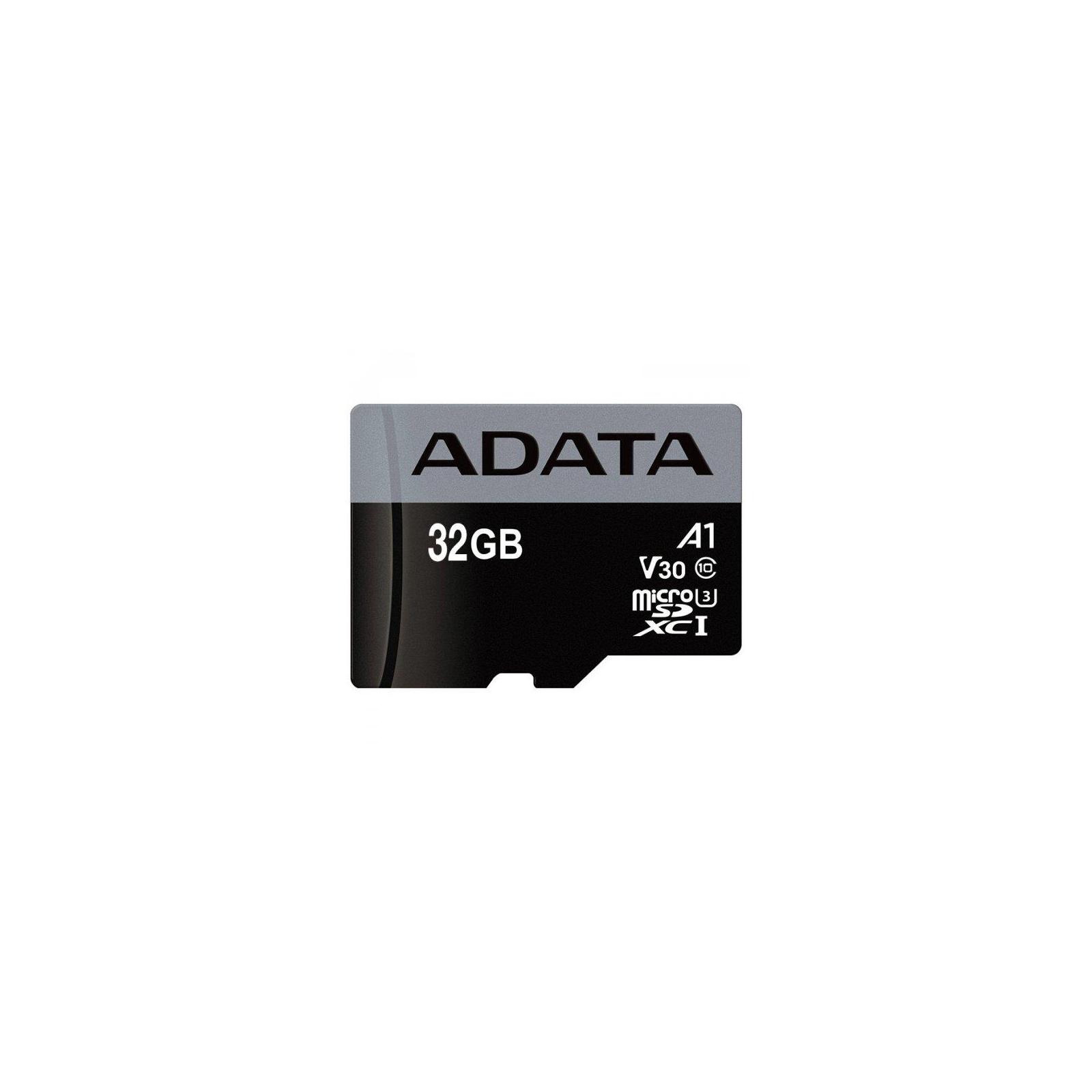 Карта памяти ADATA 32GB microSD class 10 UHS-I U3 A1 (AUSDH32GUI3V30SA1-RA1) изображение 2