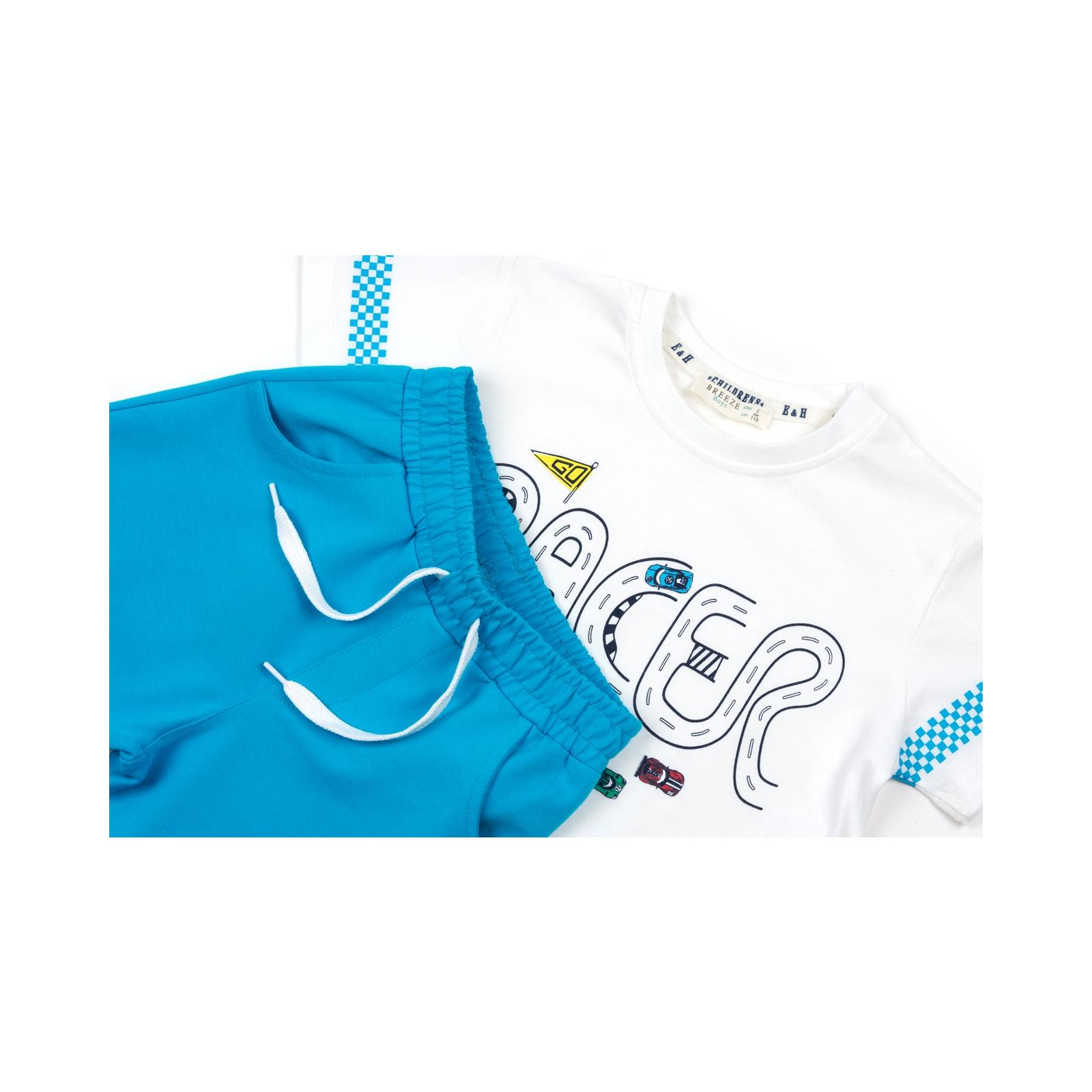 Набор детской одежды Breeze с машинками (12103-92B-blue) изображение 3