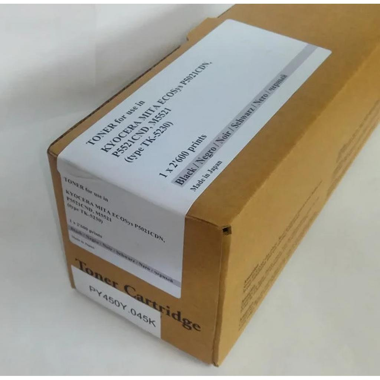 Тонер-картридж Tomoegawa KYOCERA TK-5230K Black + chip (PY450Y.045K)