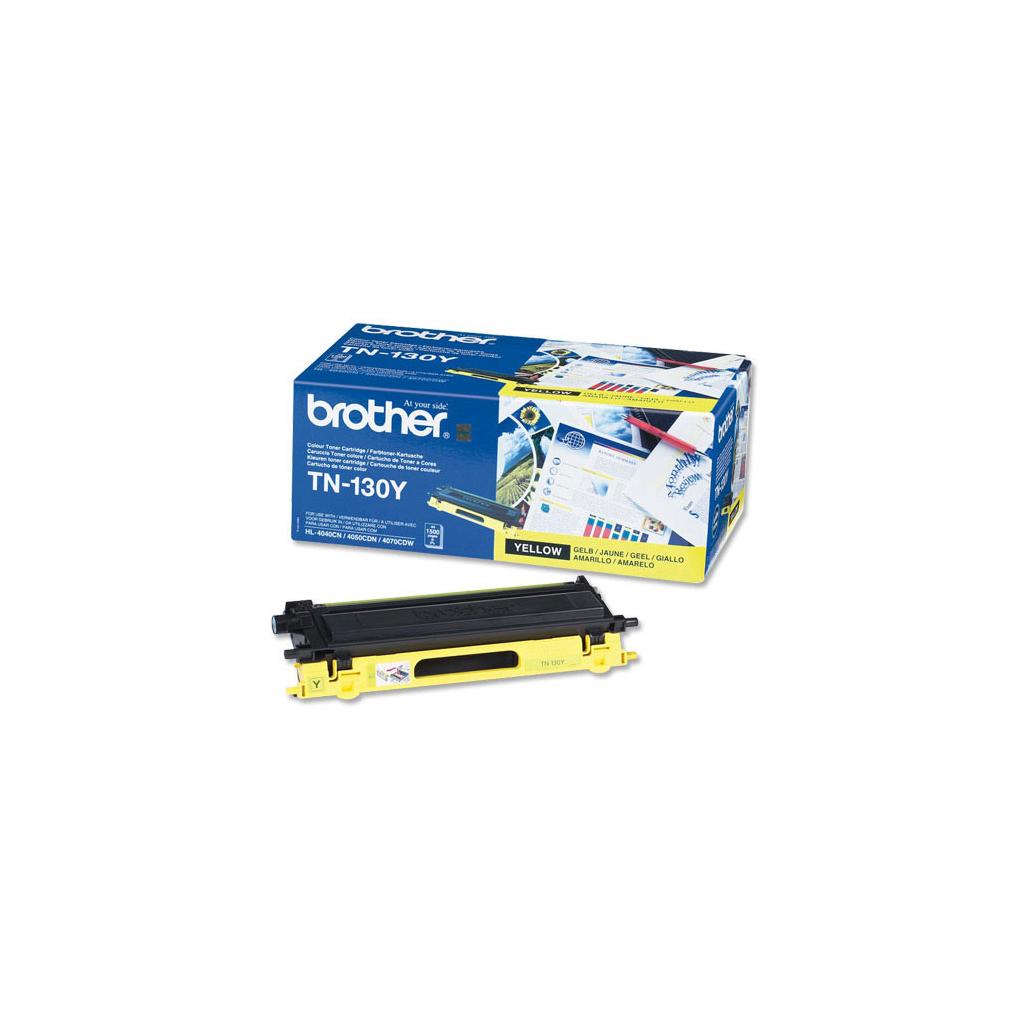 Картридж Brother для HL-40xxC,MFC9440,DCP9040 yellow (TN130Y)