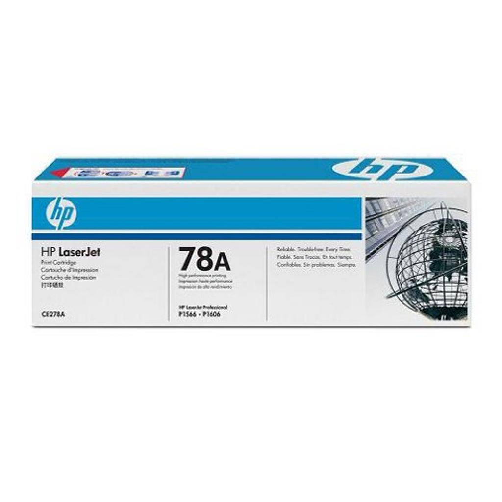 Картридж HP LJ  78A P1566/ 1606DN (CE278A)