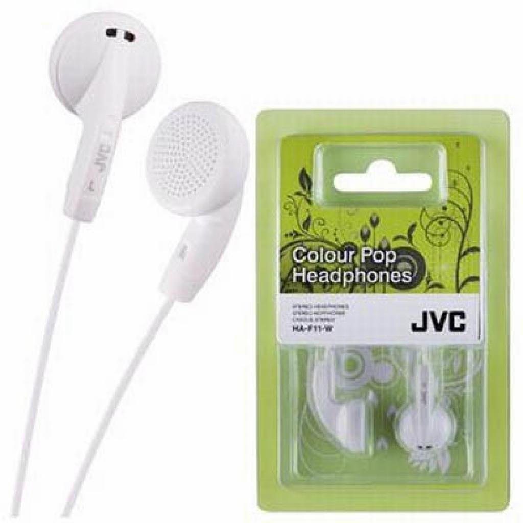 Наушники JVC HA-F11 White (HA-F11-W-E)