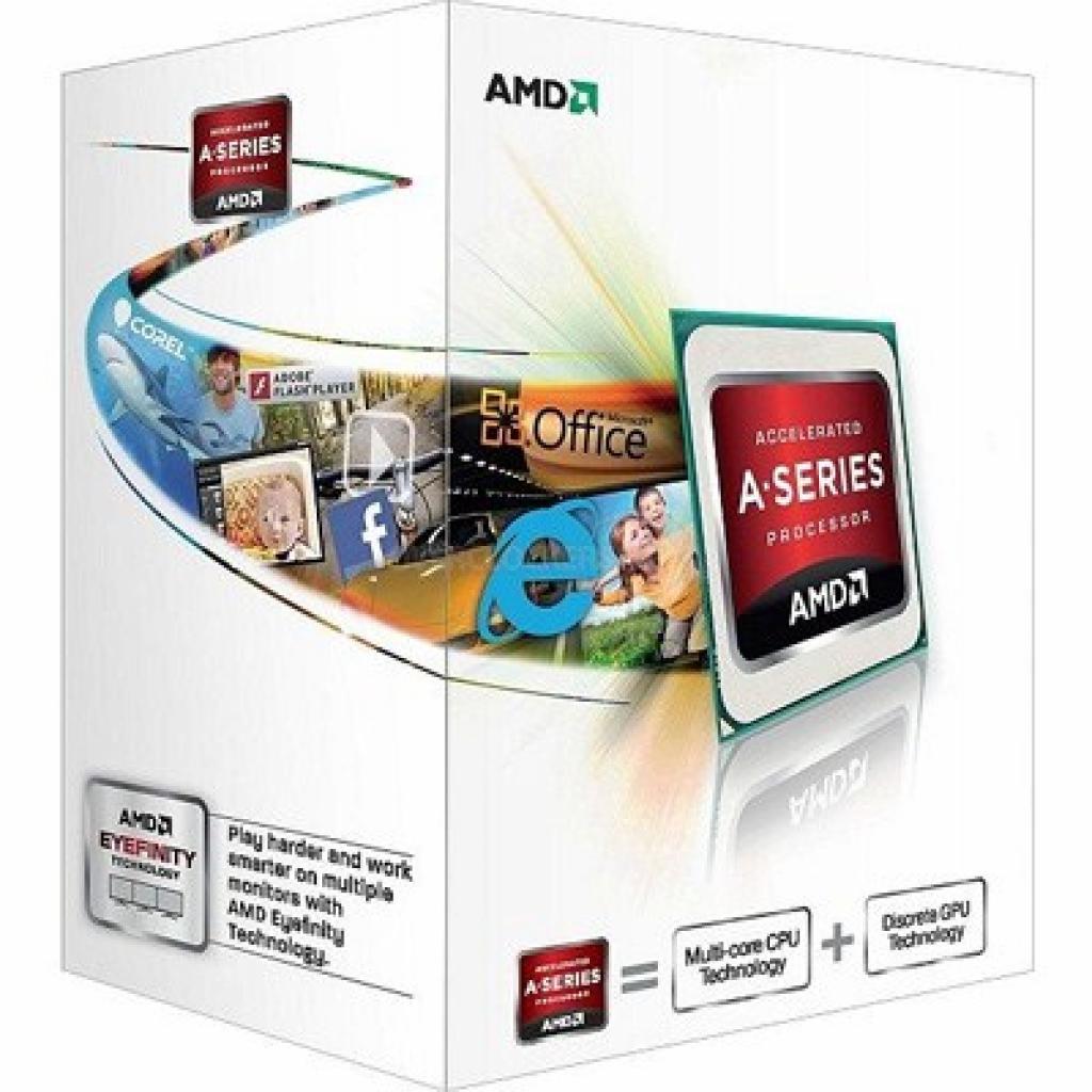 Процессор AMD A10-5700 X4 (AD5700OKHJBOX)