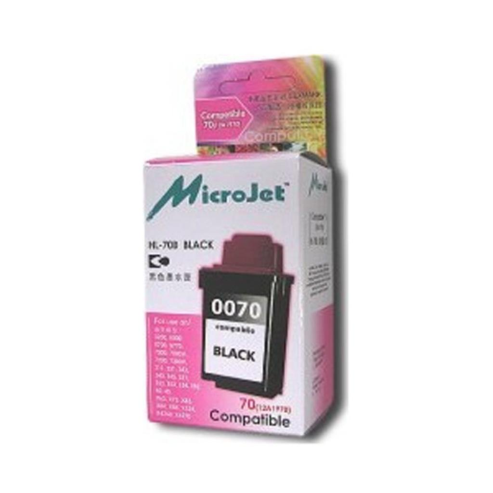 Картридж MicroJet LEXMARK 3200/7000/Z11/53 (12A1970) (HL-70B)