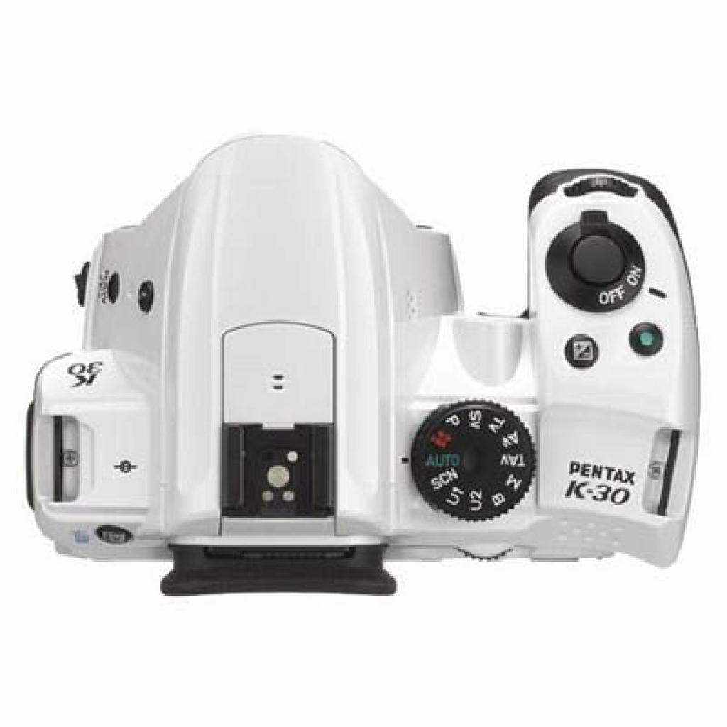 Цифровой фотоаппарат Pentax K-30 white body (15667) изображение 3