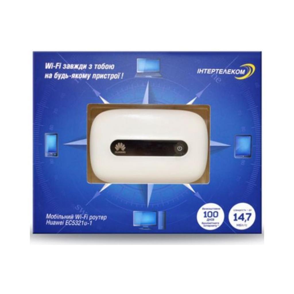 3G роутер Інтертелеком Huawei EC 5321u-2 Rev. B (Huawei EC 5321u-2 Rev. B/EC5321u-1 Rev.B) изображение 2