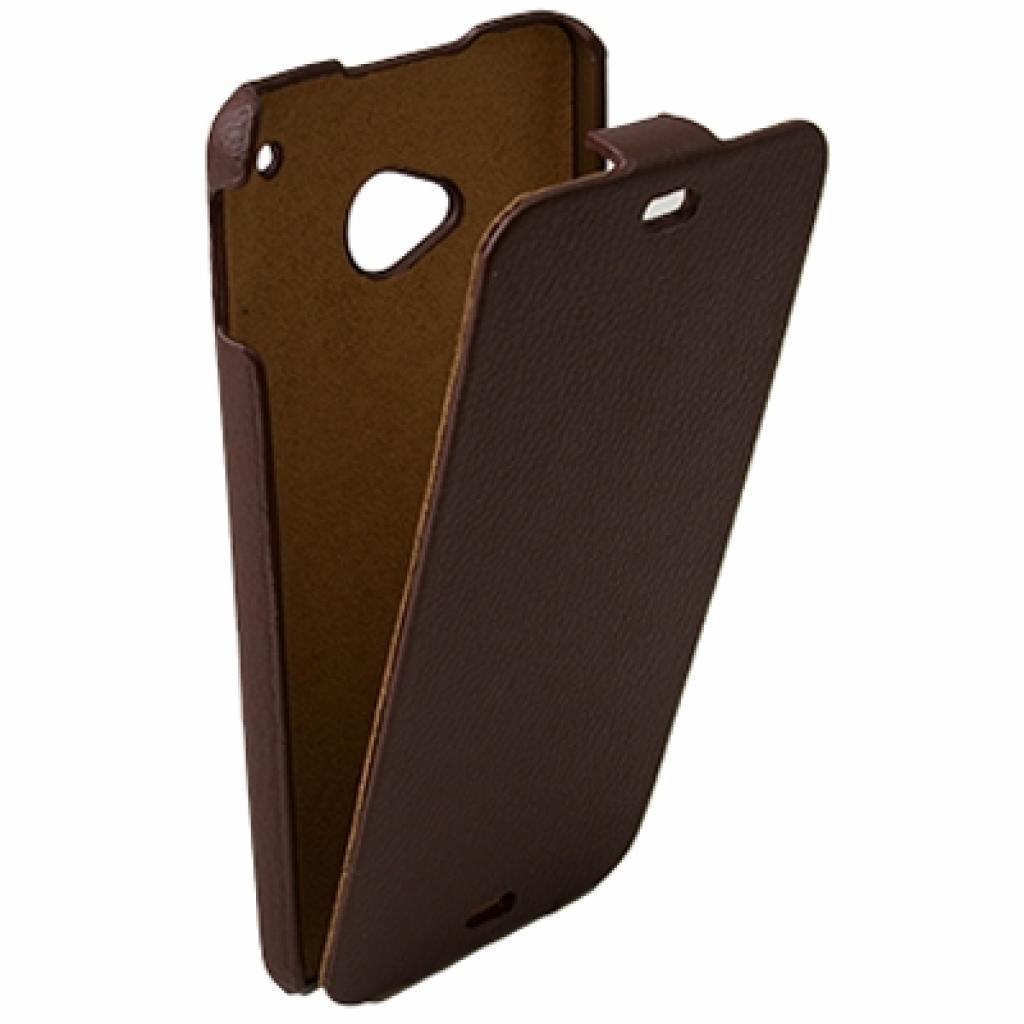 Чехол для моб. телефона Drobak для HTC One /Business-flip Brown (218828) изображение 2