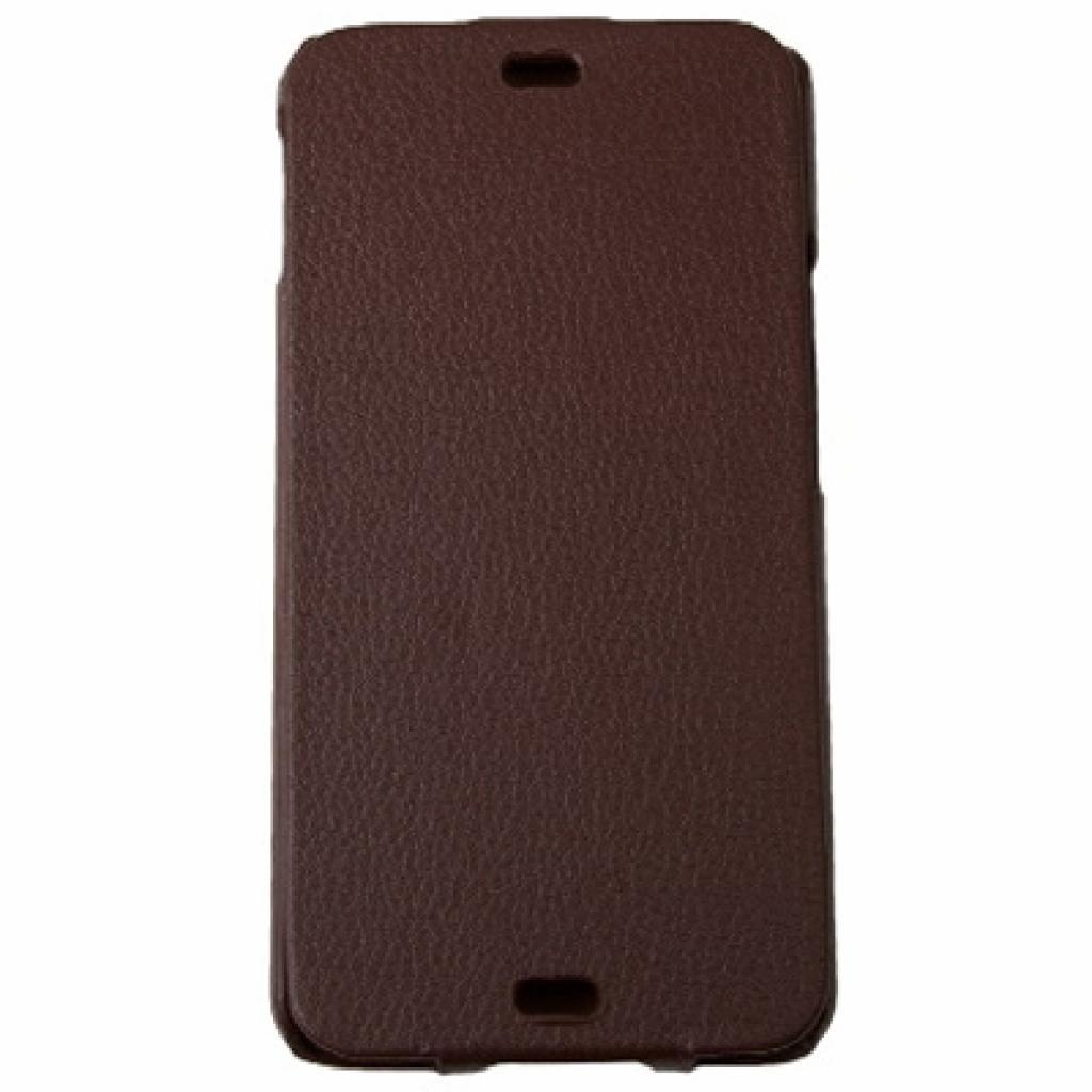 Чехол для моб. телефона Drobak для HTC One /Business-flip Brown (218828)
