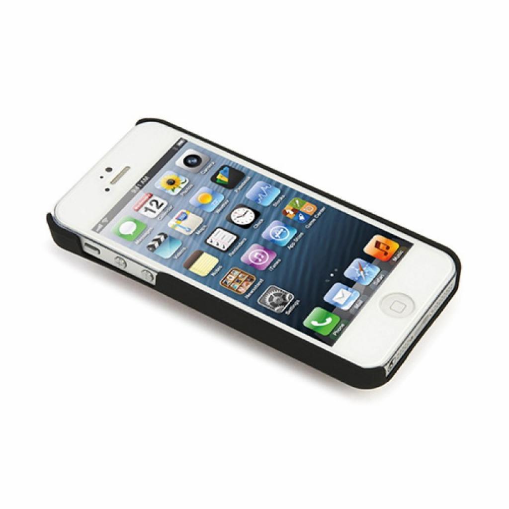 Чехол для моб. телефона Tucano iPhone 5/5S Cuore by Leo (IPH5BL-CUC) изображение 3