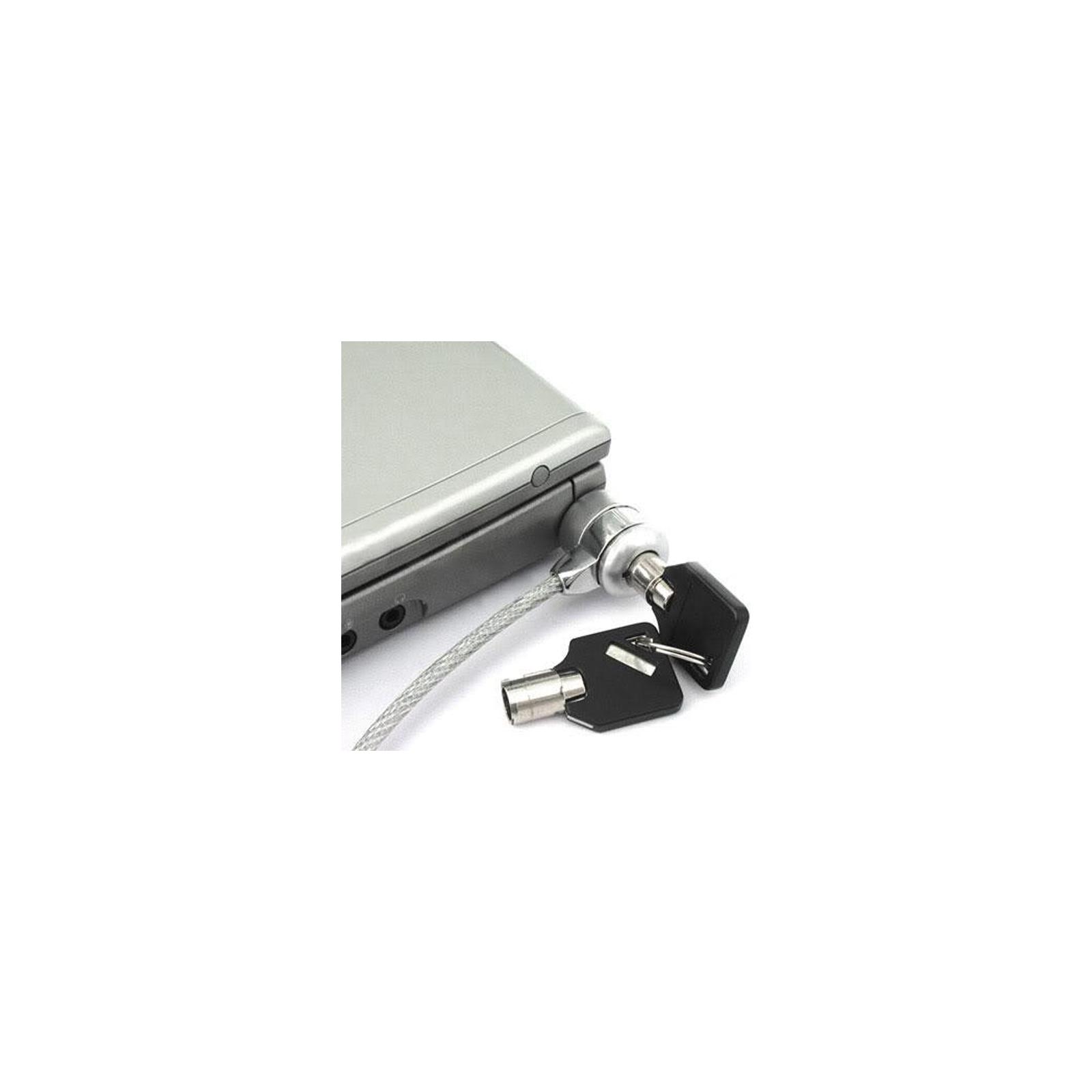 Тросик с замком для ноутбука Bellator NLOCK02 изображение 2