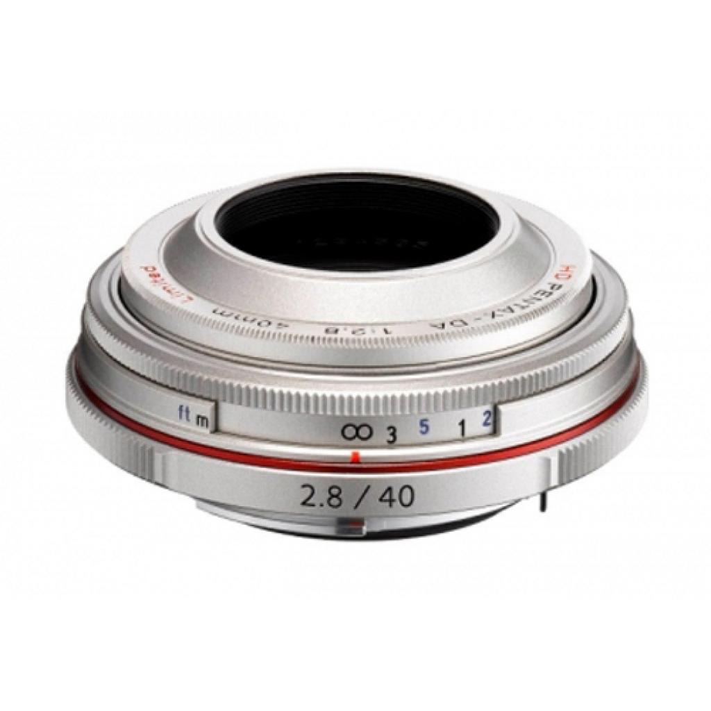 Объектив Pentax HD DA 40mm f/2.8 Limited Silver (21400) изображение 2