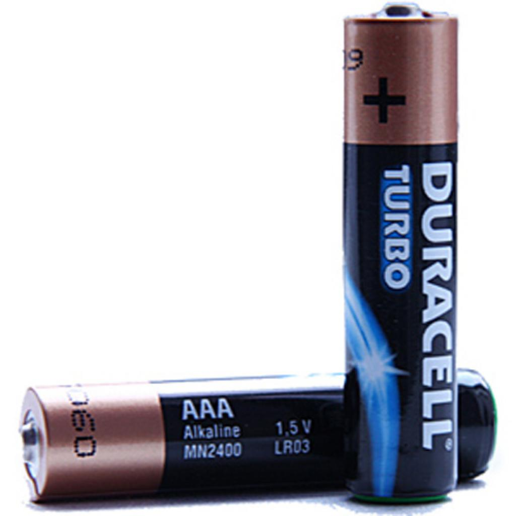 Батарейка Duracell LR03 TURBO MAX MN2400 * 8 (81417105 / 81480371) изображение 2