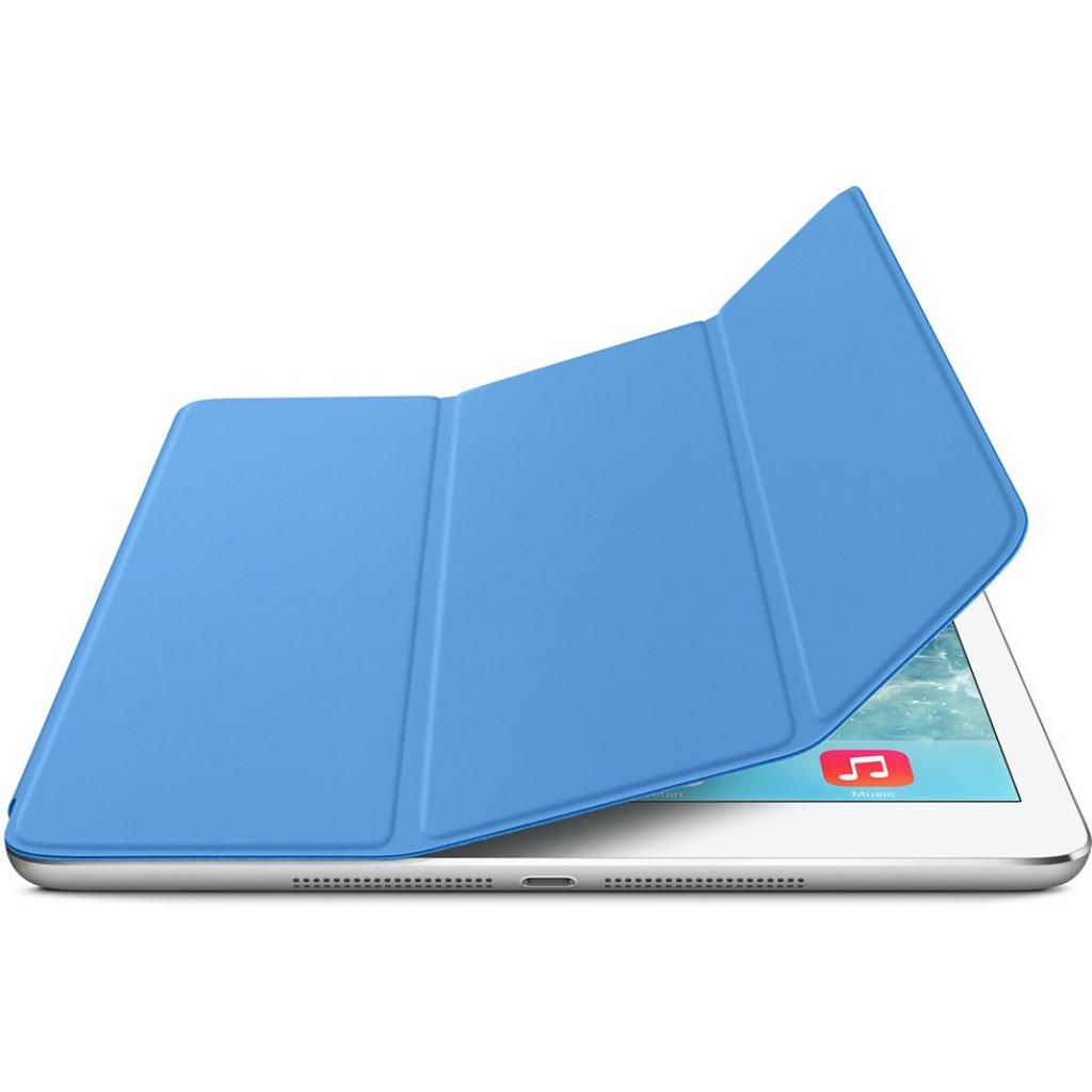 Чехол для планшета Apple Smart Cover для iPad Air (blue) (MF054ZM/A) изображение 4