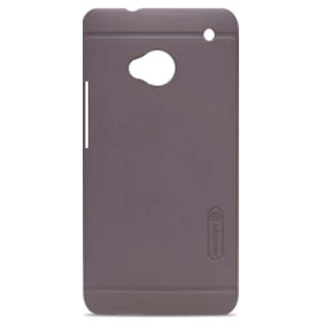 Чехол для моб. телефона NILLKIN для HTC ONE/M7 /Super Frosted Shield/Brown (6065711)