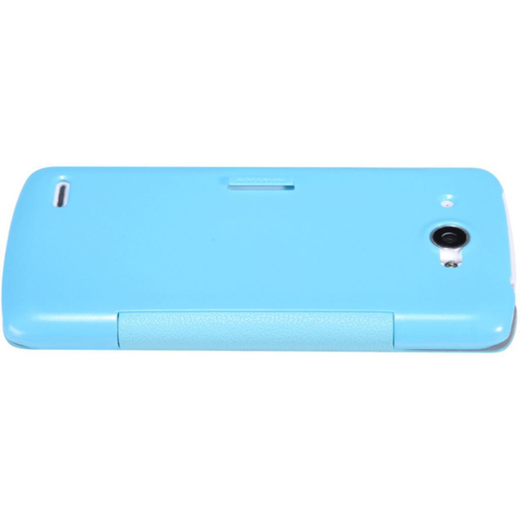 Чехол для моб. телефона NILLKIN для Lenovo S920 /Fresh/ Leather/Blue (6076870) изображение 4