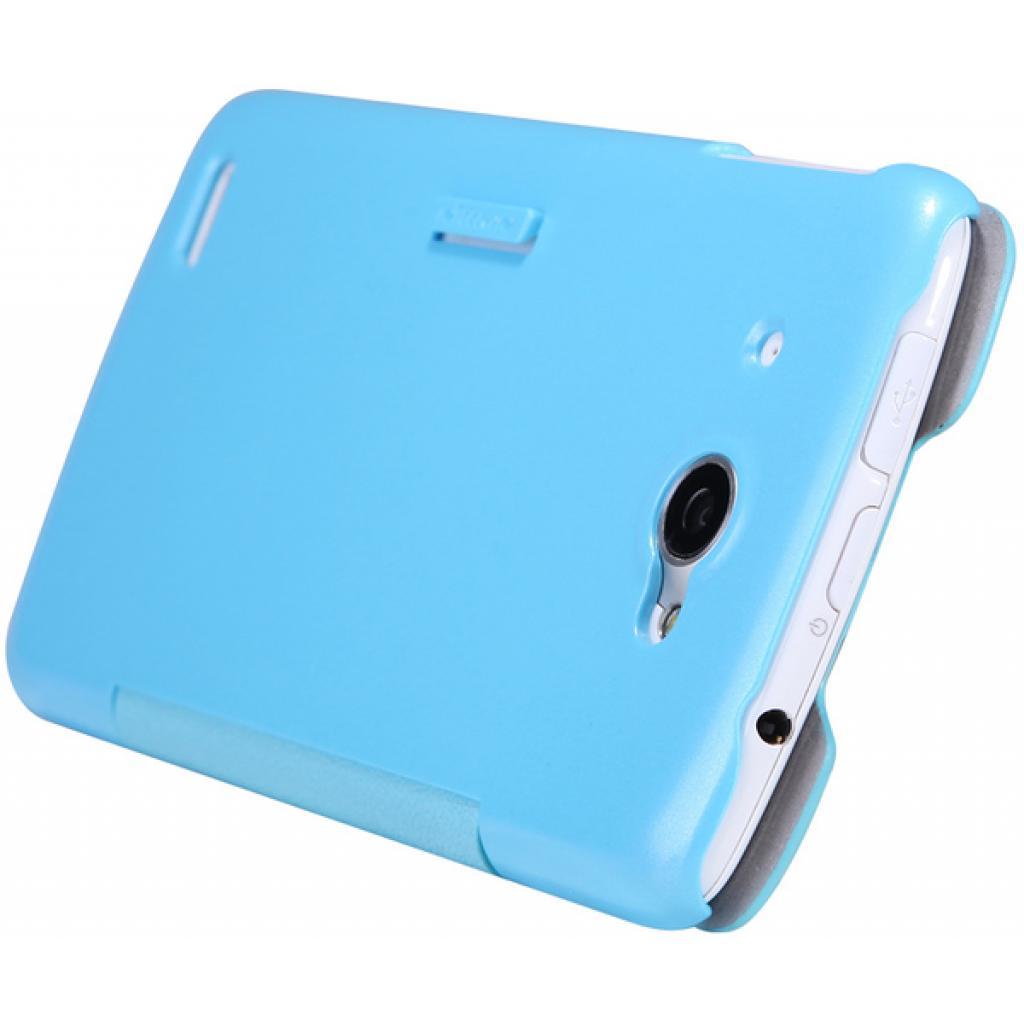 Чехол для моб. телефона NILLKIN для Lenovo S920 /Fresh/ Leather/Blue (6076870) изображение 5