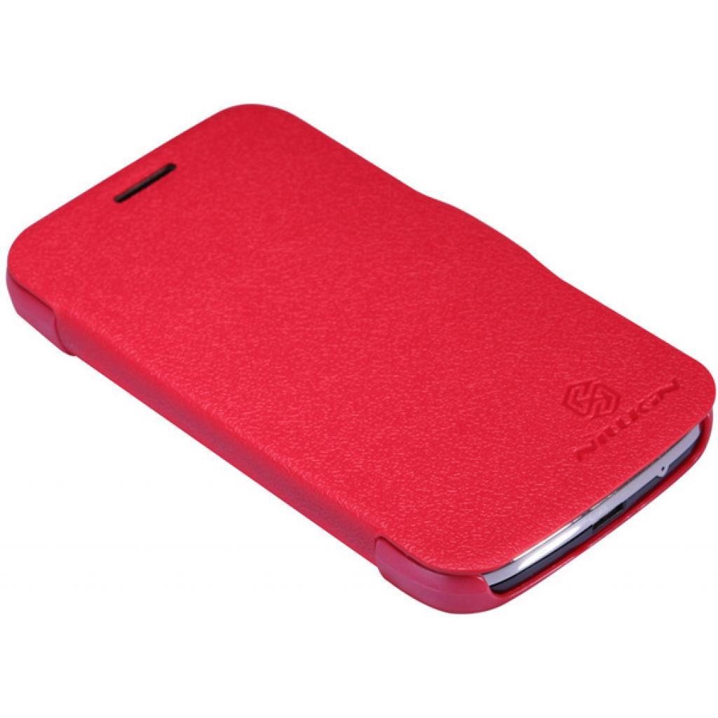 Чехол для моб. телефона NILLKIN для Samsung S7272 /Fresh/ Leather/Red (6076975) изображение 2