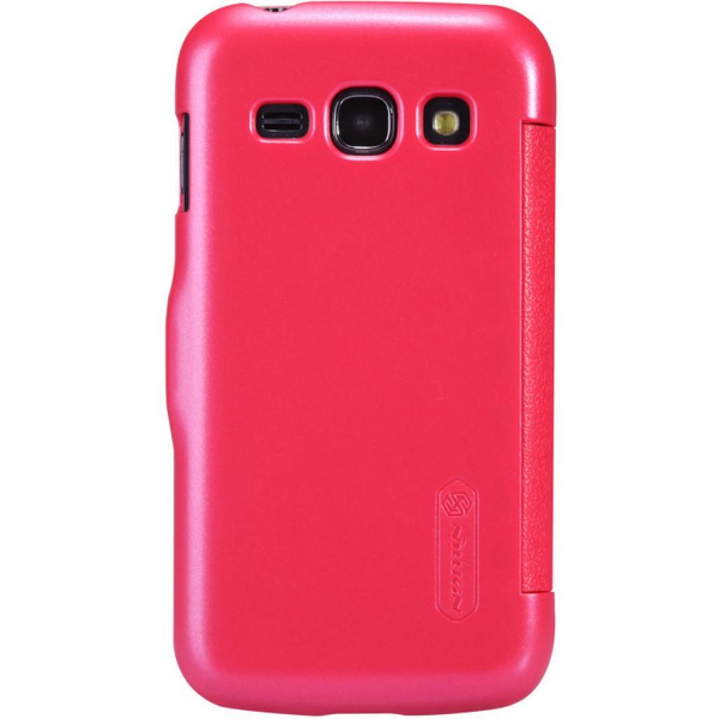 Чехол для моб. телефона NILLKIN для Samsung S7272 /Fresh/ Leather/Red (6076975) изображение 5