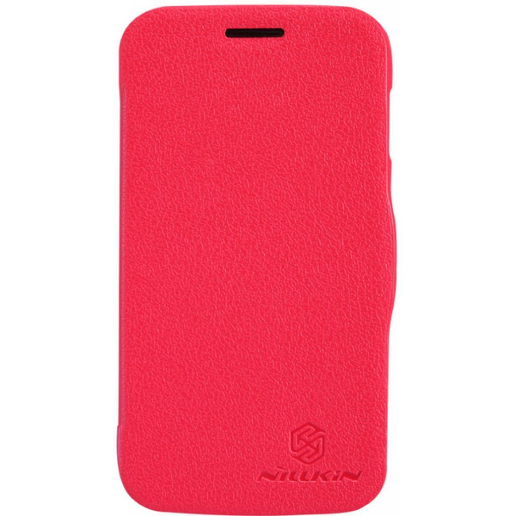 Чехол для моб. телефона NILLKIN для Samsung S7272 /Fresh/ Leather/Red (6076975)