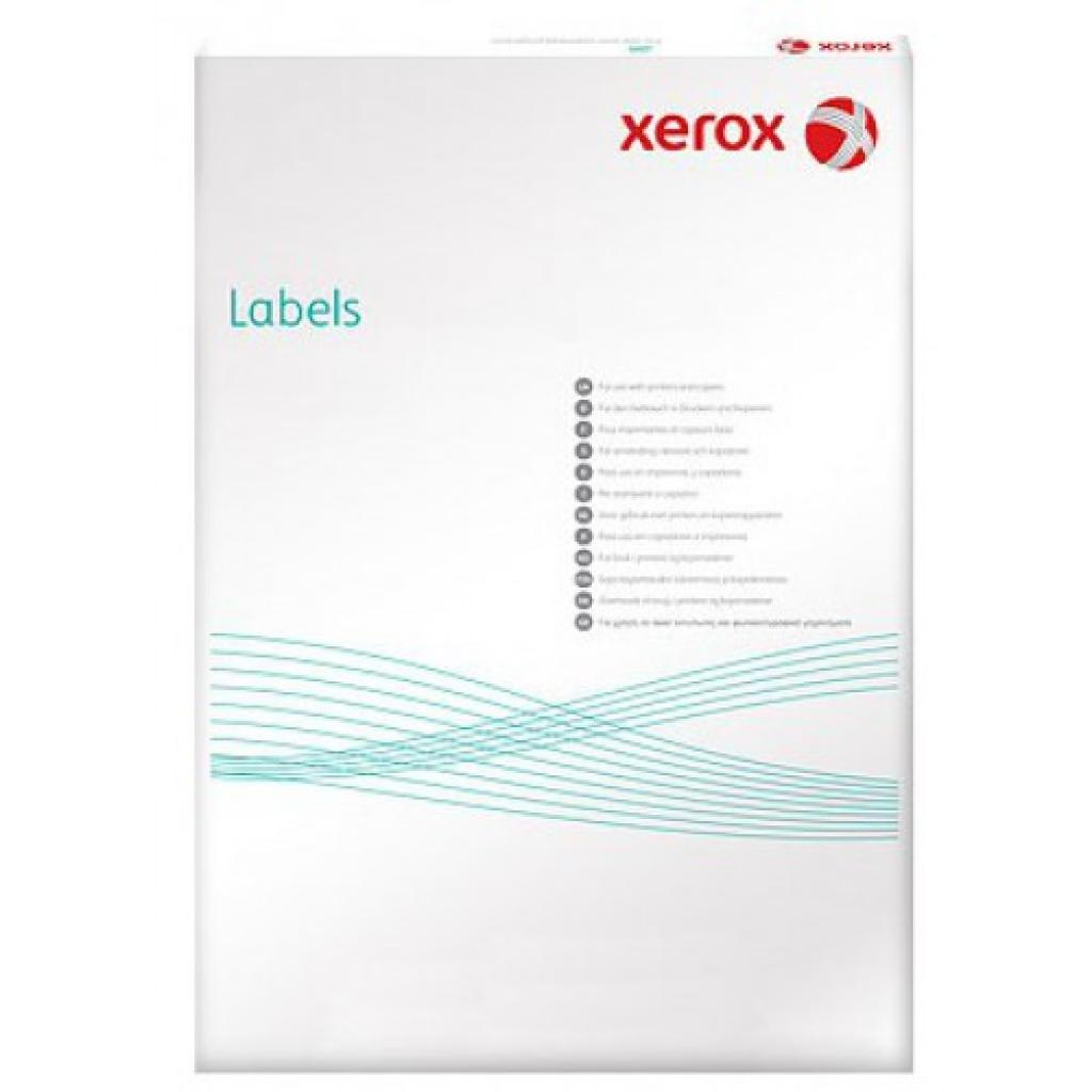 Етикетка самоклеюча XEROX 003R97411