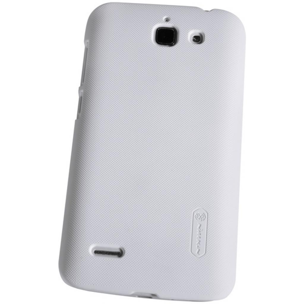 Чехол для моб. телефона NILLKIN для Huawei G730 /Super Frosted Shield/White (6147121) изображение 2