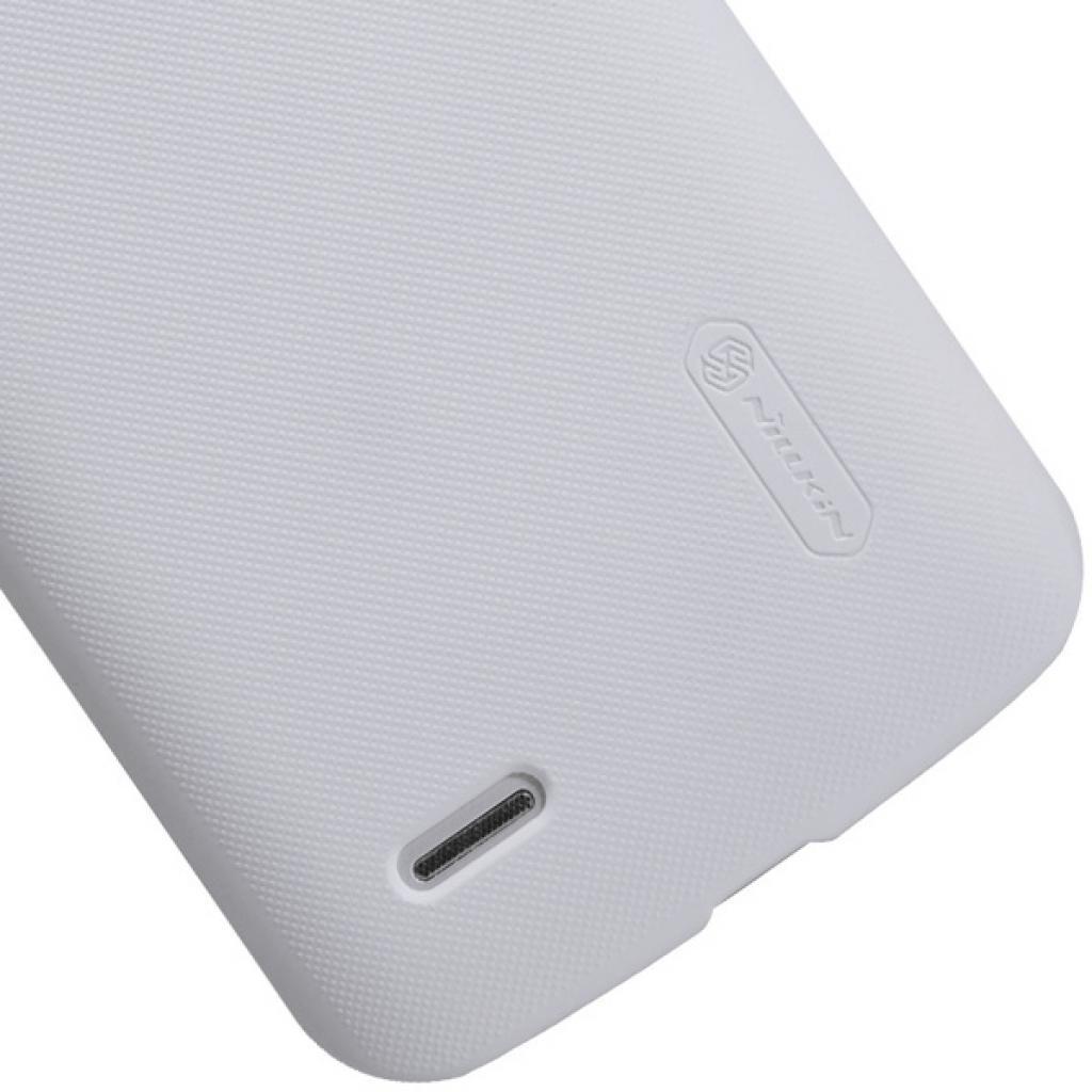 Чехол для моб. телефона NILLKIN для Huawei G730 /Super Frosted Shield/White (6147121) изображение 4