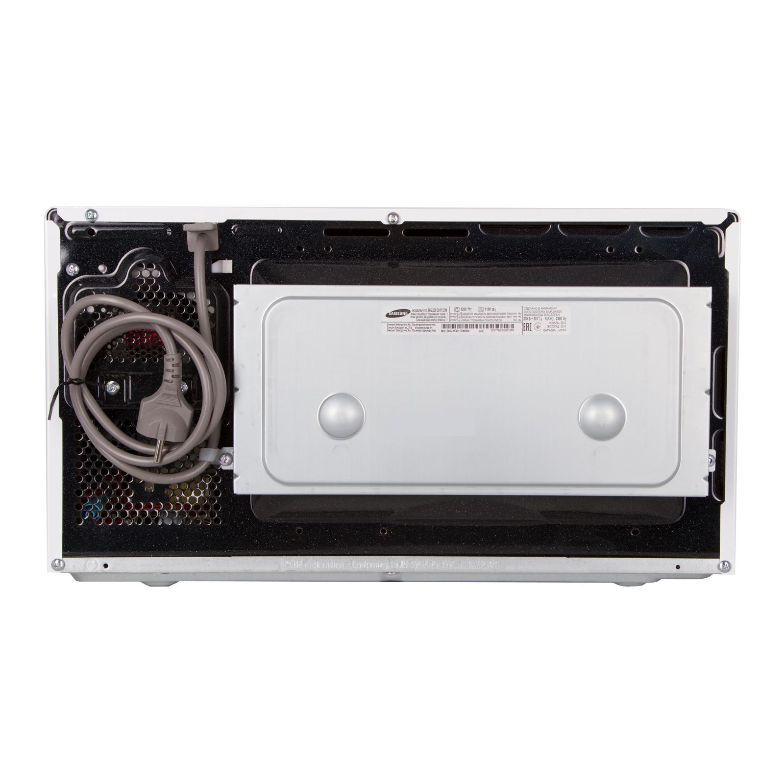 Микроволновая печь Samsung MG23F301TCW/BW изображение 4