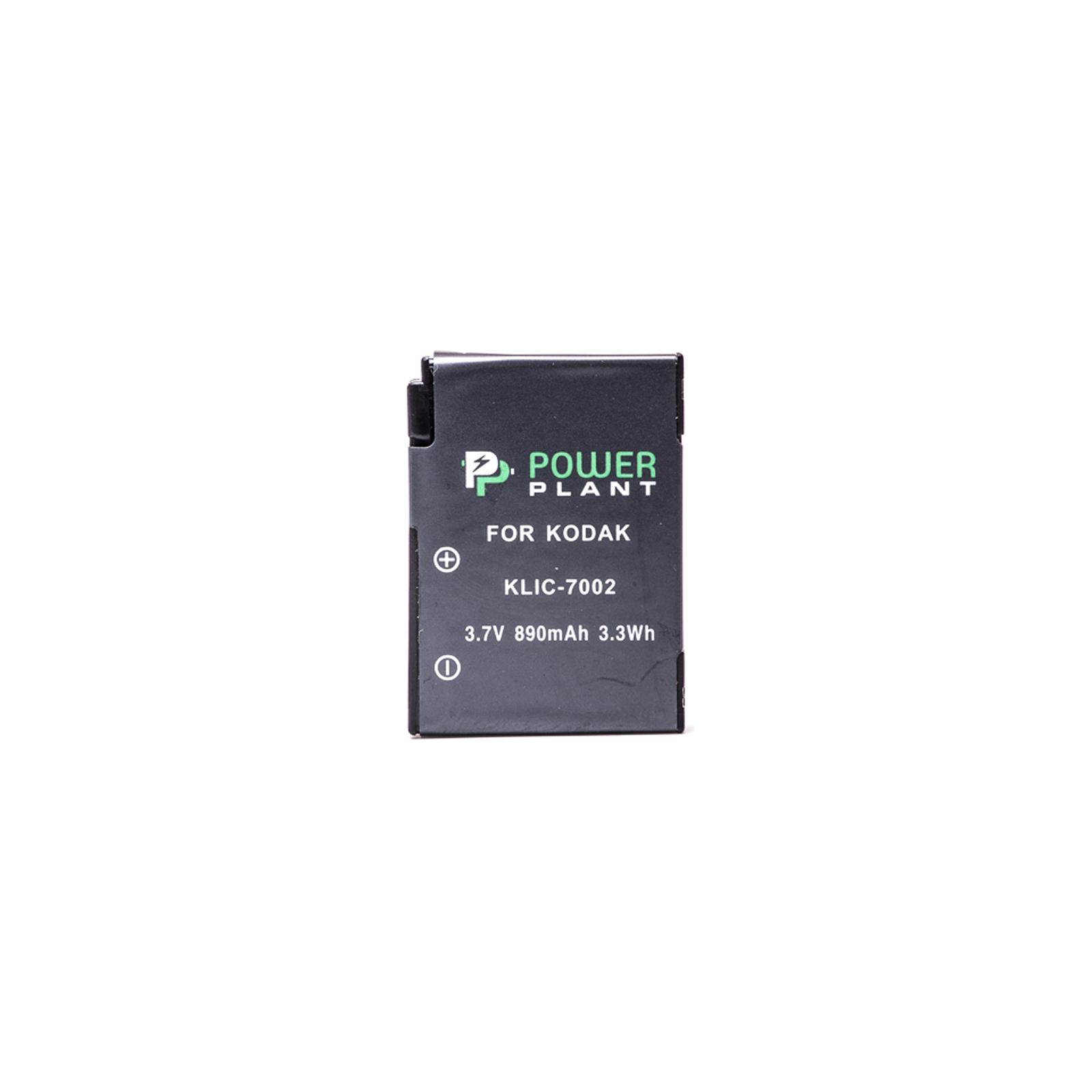 Аккумулятор к фото/видео PowerPlant Kodak KLIC-7002 (DV00DV1154) изображение 2