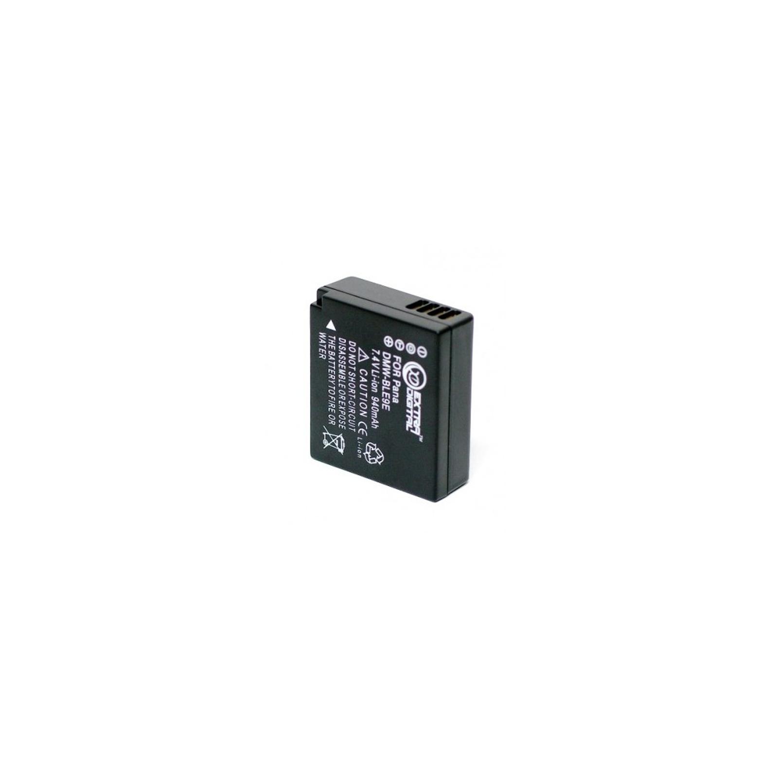 Аккумулятор к фото/видео EXTRADIGITAL Panasonic DMW-BLE9 (BDP2569) изображение 2