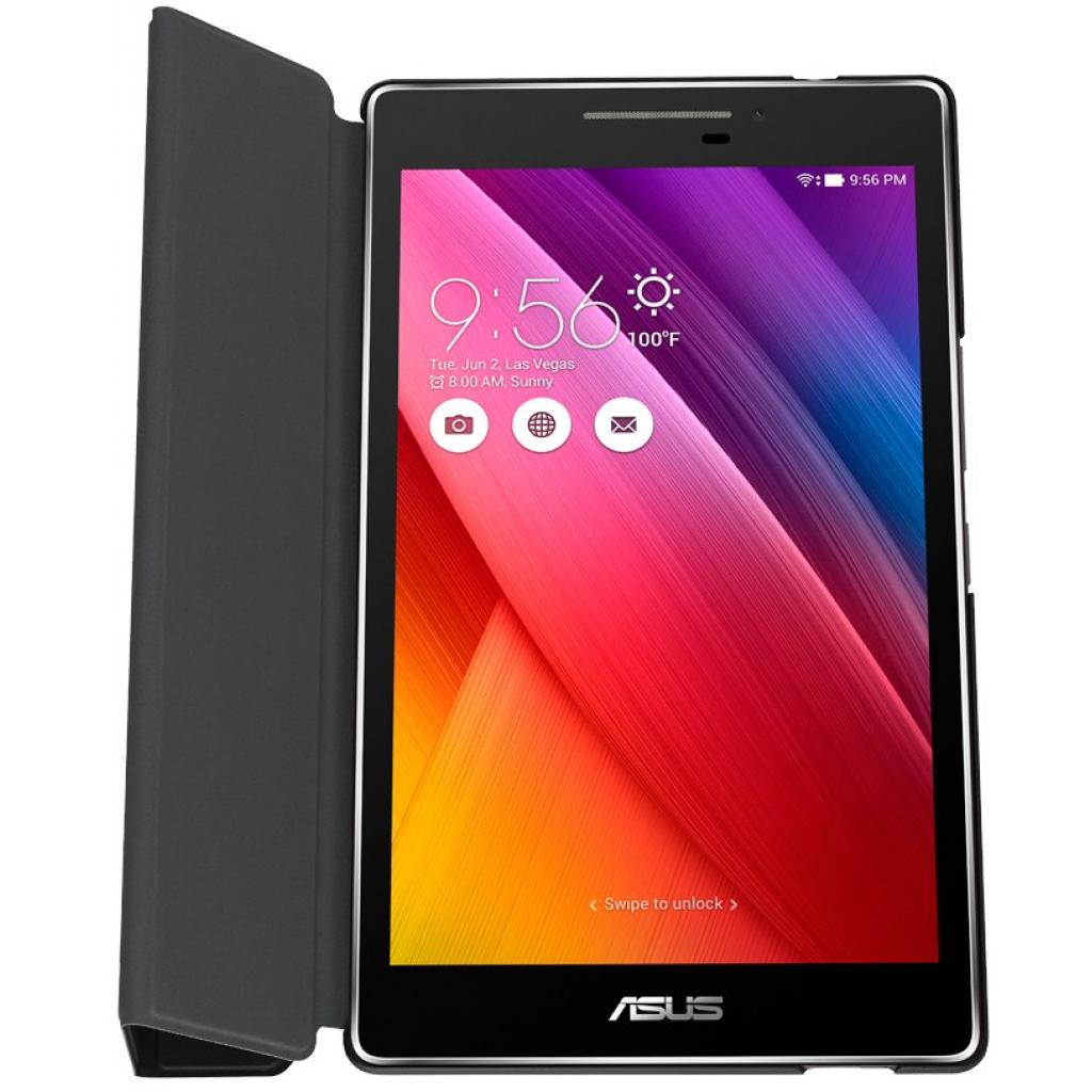 "Чехол для планшета ASUS ZenPad C 7.0"" TriCover Z370C / Z370CG Black (90XB015P-BSL2X0) изображение 4"