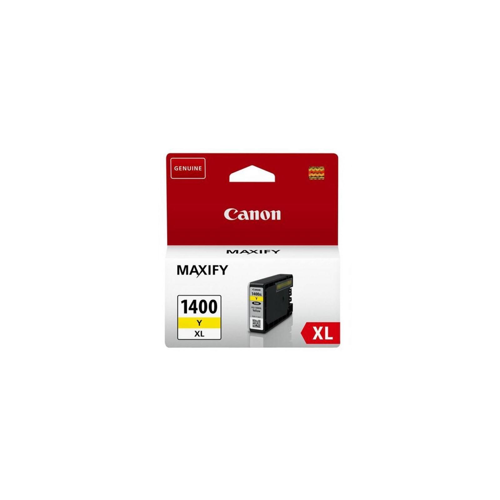 Картридж Canon PGI-1400 XL Yellow (9204B001)