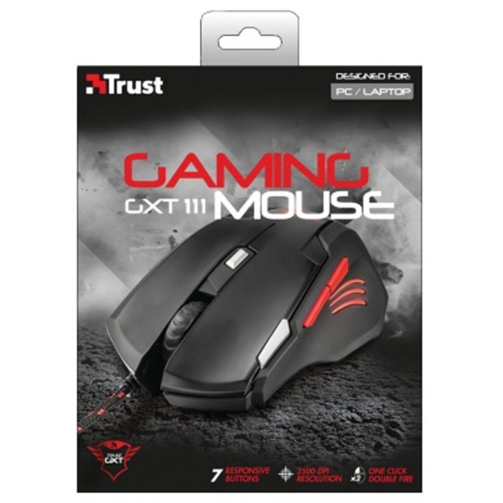 Мышка Trust GXT 111 Gaming Mouse (21090) изображение 5