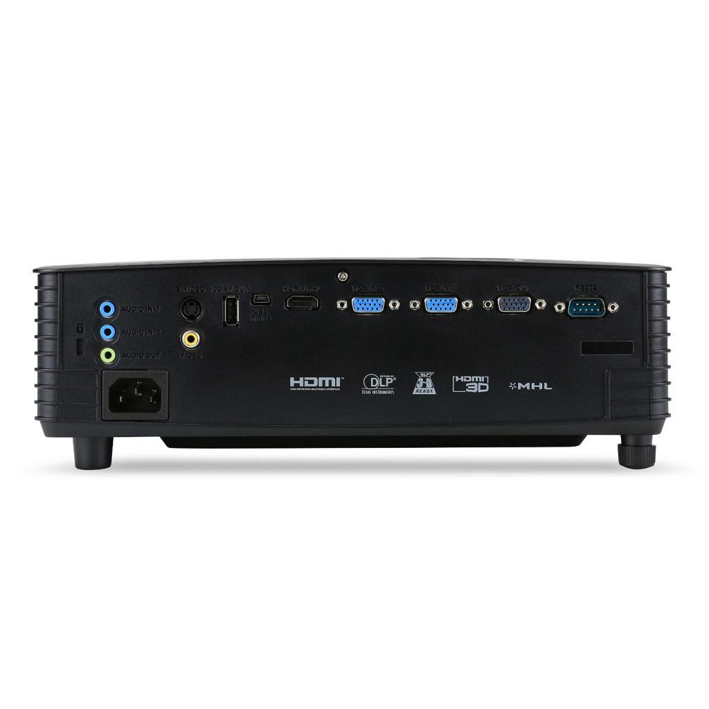 Проектор Acer P1385W (MR.JLK11.001 / MR.JLK11.00G) изображение 4