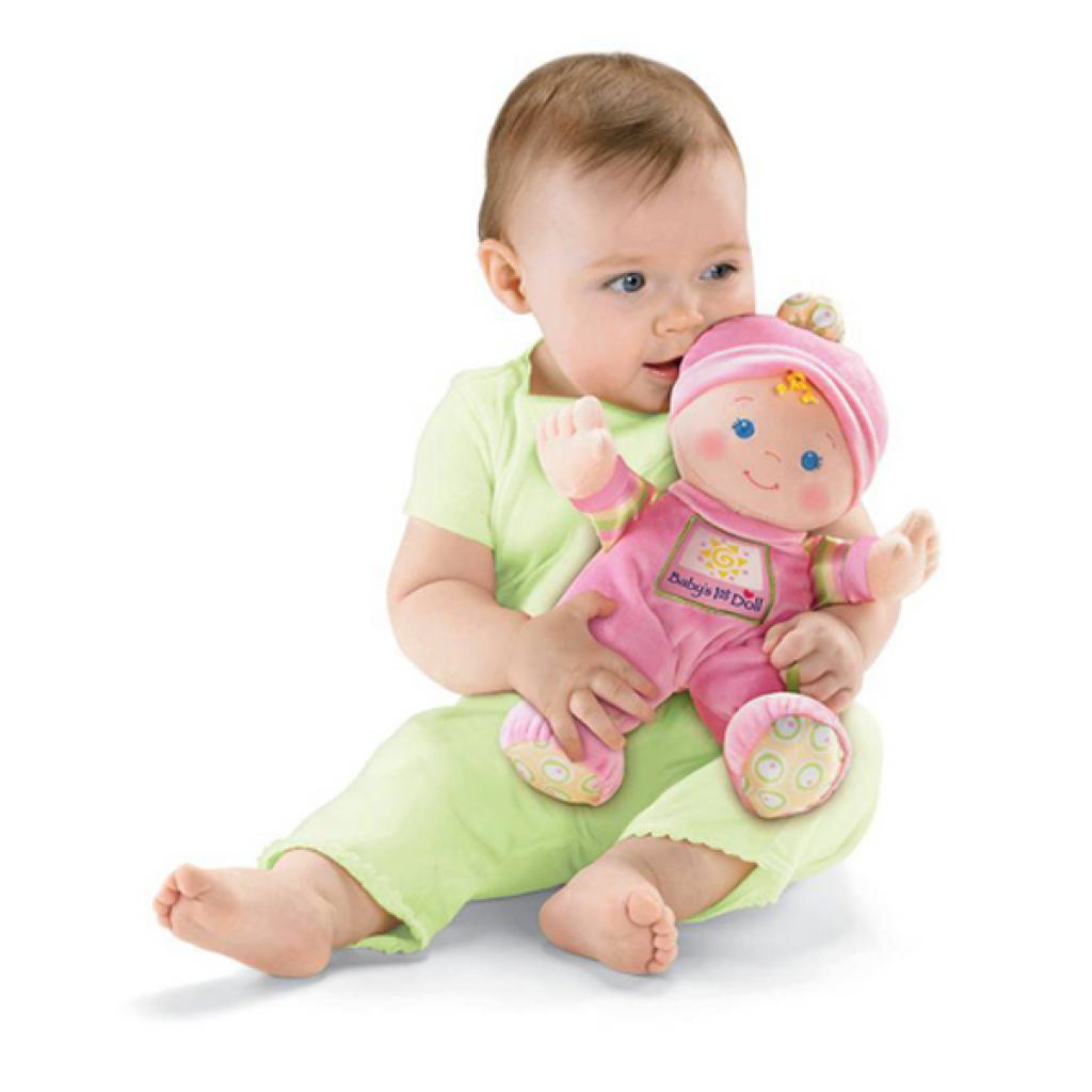 Развивающая игрушка Fisher-Price Первая кукла малыша (M9528) изображение 4