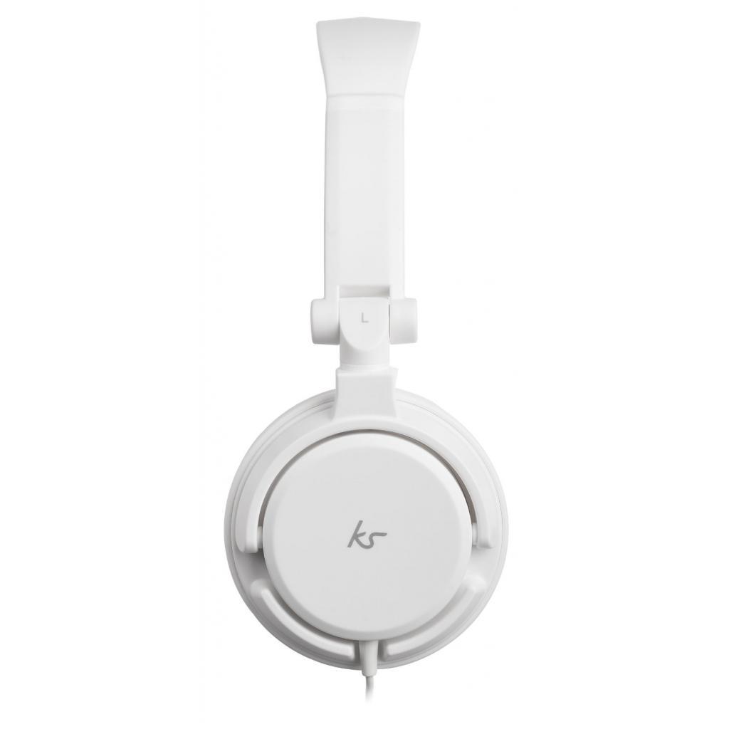 Наушники KitSound KS iD On-Ear Headphones with In-Line Mic White (KSIDWH) изображение 3