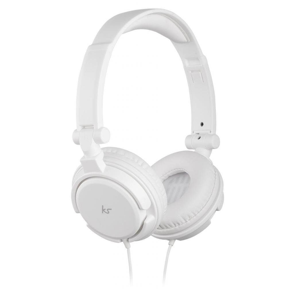 Наушники KitSound KS iD On-Ear Headphones with In-Line Mic White (KSIDWH)