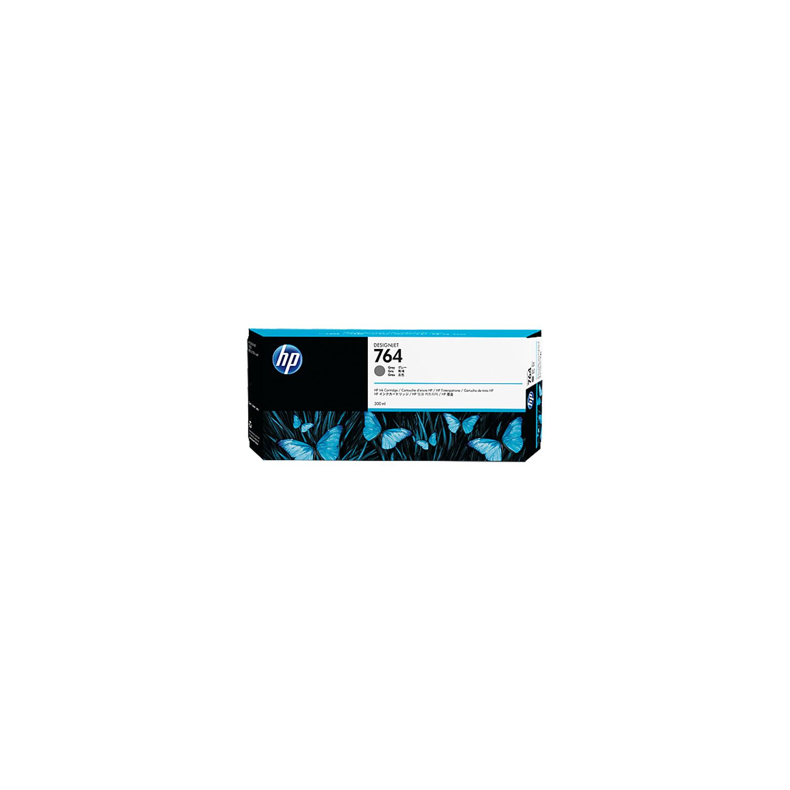 Картридж HP DJ No.764 Gray DesignJet Ink Cartridge (C1Q18A)