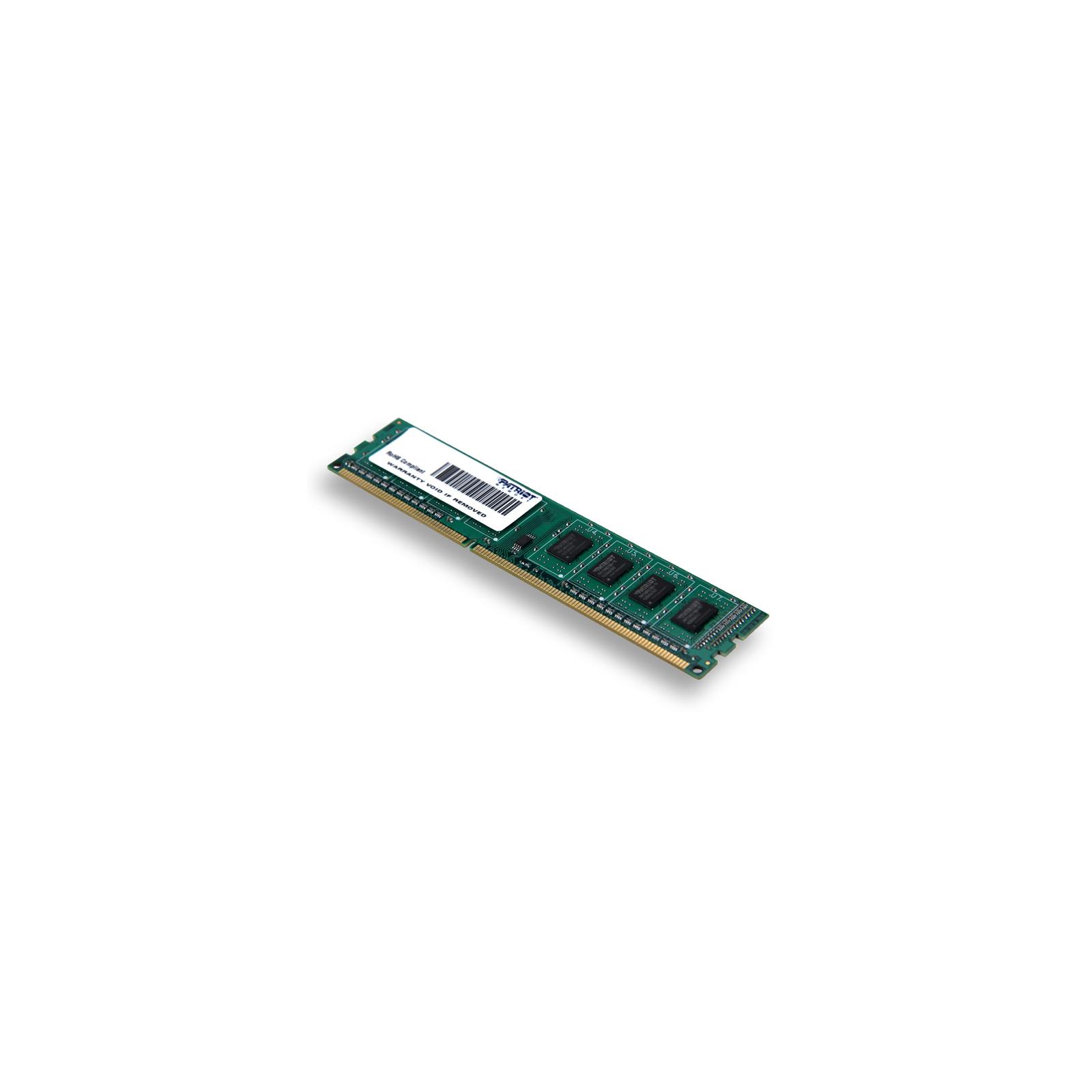Модуль памяти для компьютера DDR3 4GB 1600 MHz Patriot (PSD34G1600L81) изображение 2