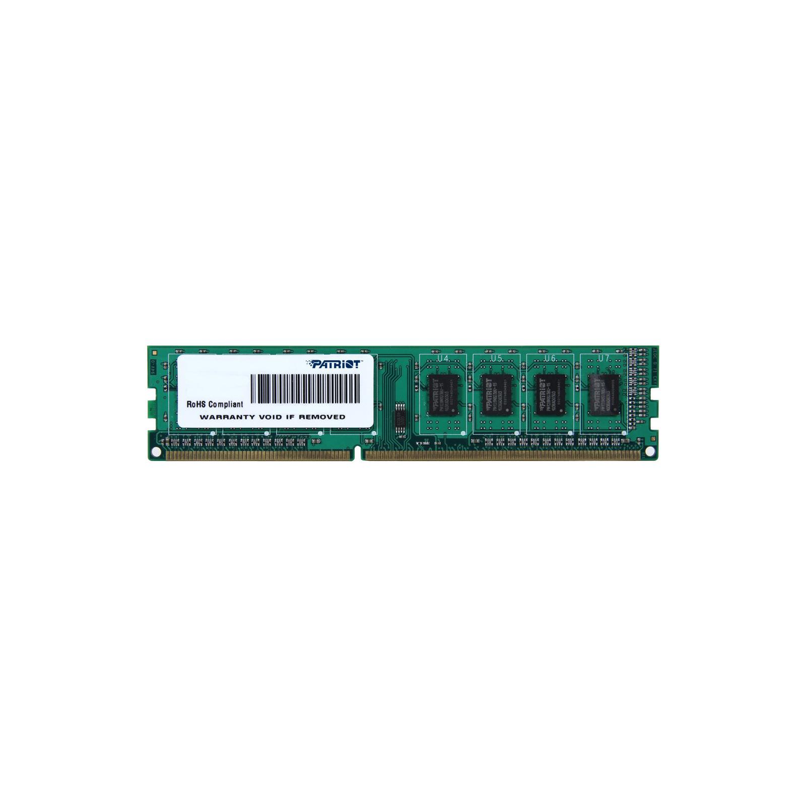 Модуль памяти для компьютера DDR3 4GB 1600 MHz Patriot (PSD34G1600L81)