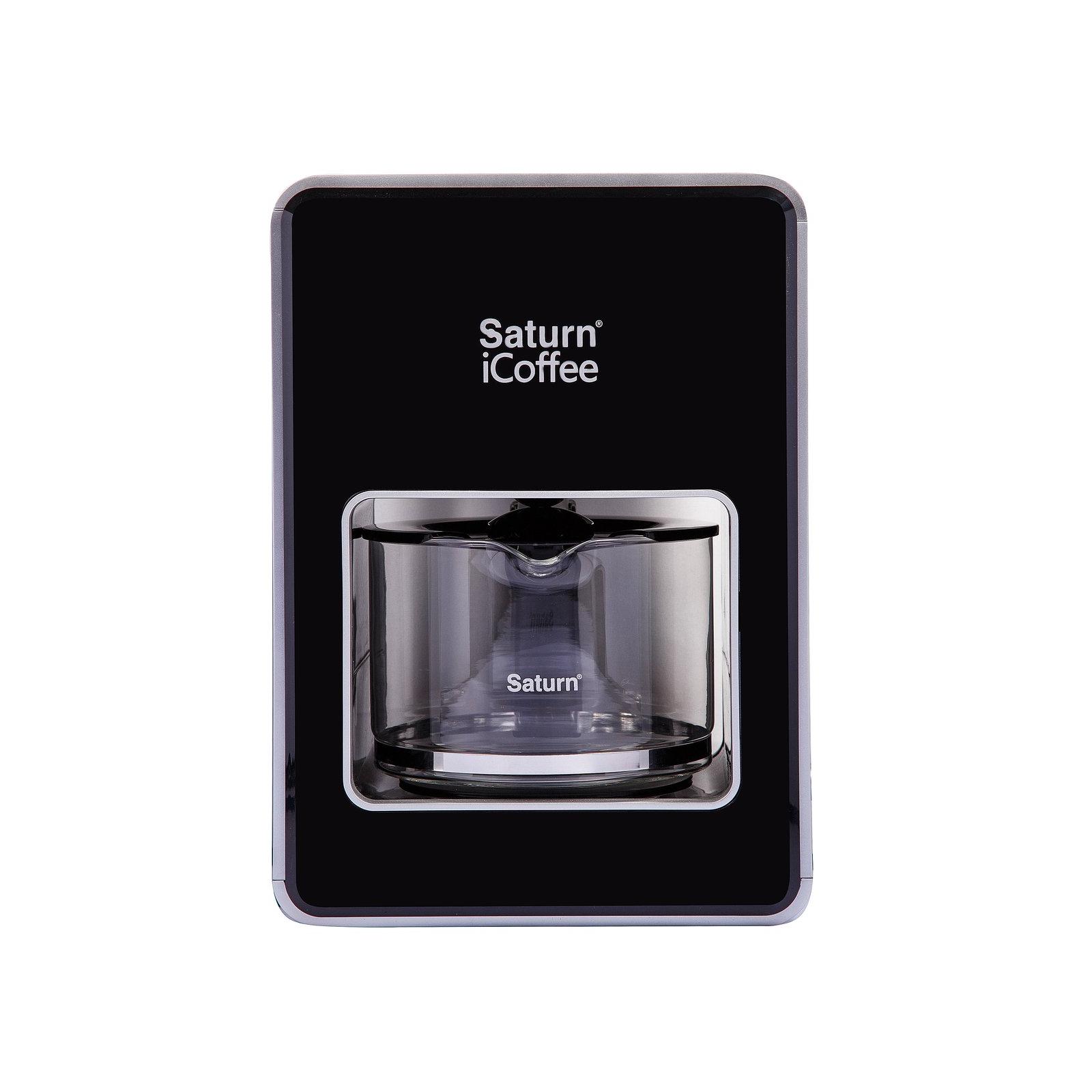 Кофеварка SATURN ST-CM7080 New black изображение 2