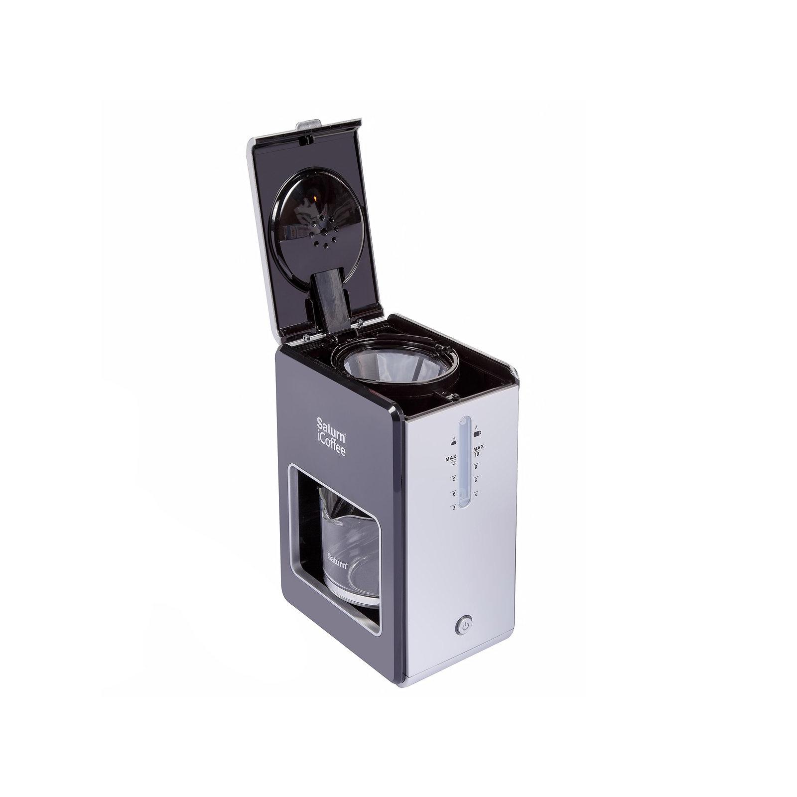 Кофеварка SATURN ST-CM7080 New black изображение 3