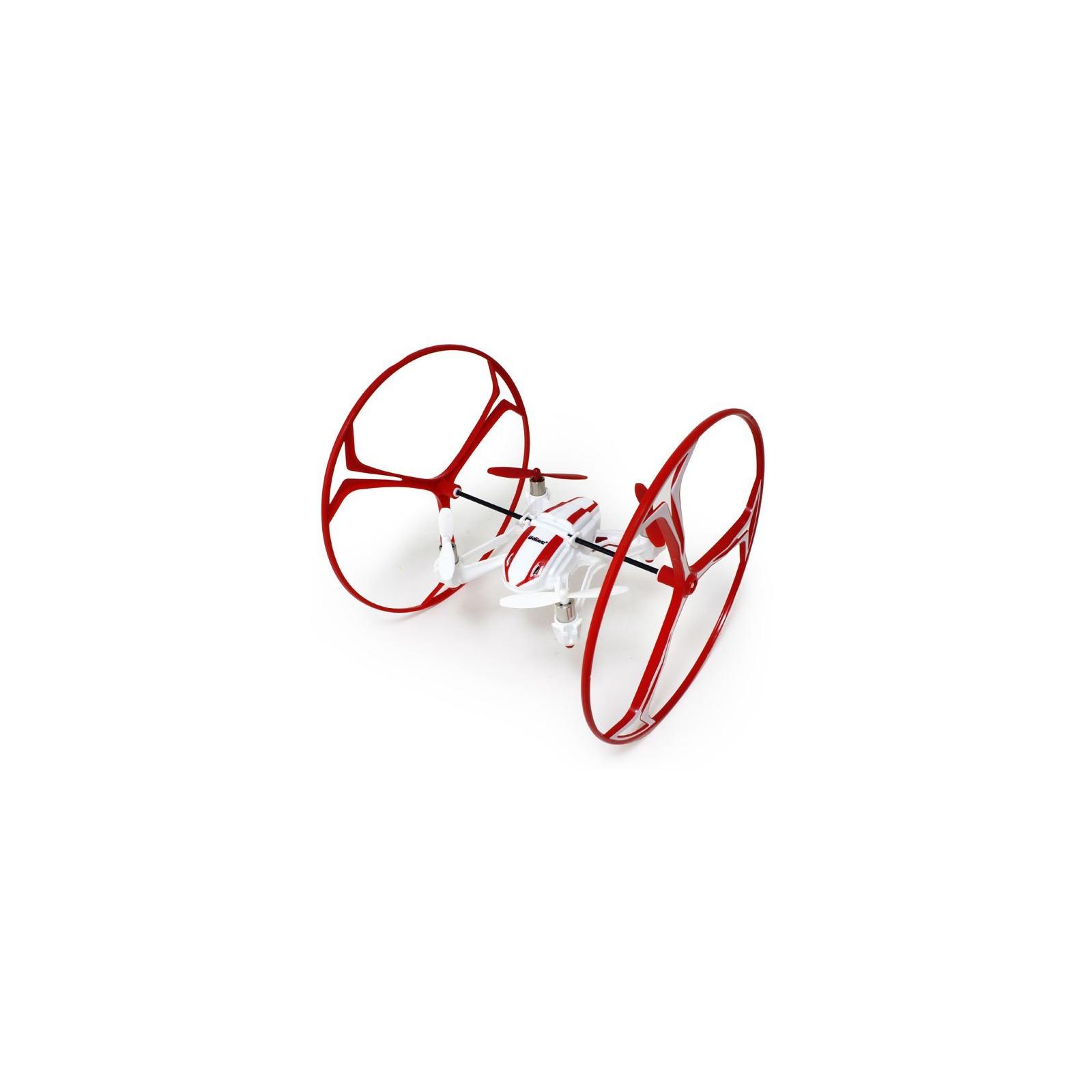 Квадрокоптер UDIRC U841 NANO RX4 3-в-1 125 мм HD камера (U841 Red) изображение 3