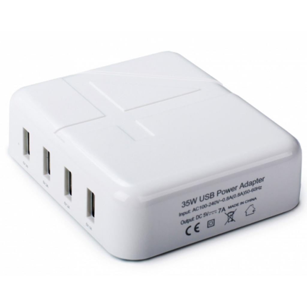 Зарядное устройство Drobak Multi Power 4*USB 4A (905321) изображение 2