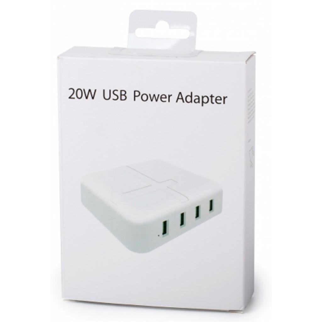 Зарядное устройство Drobak Multi Power 4*USB 4A (905321) изображение 5