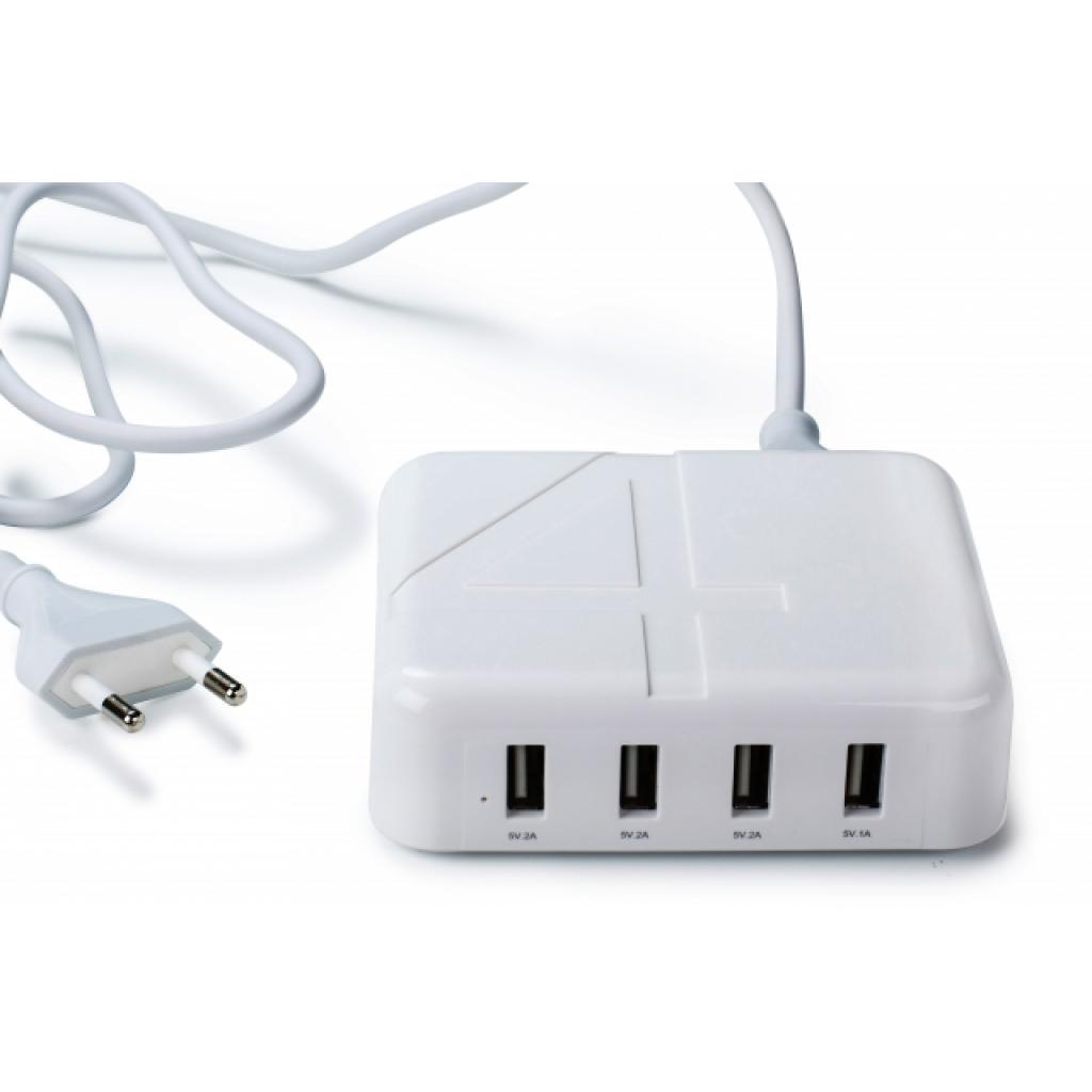 Зарядное устройство Drobak Multi Power 4*USB 4A (905321) изображение 6