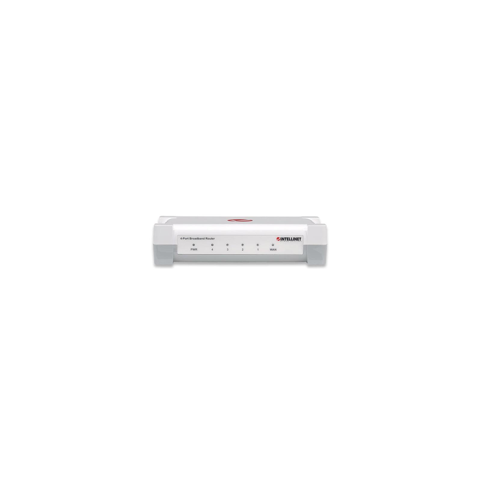 Маршрутизатор Intellinet 4-Port Broadband Router изображение 2